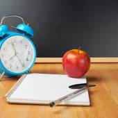 Back to school composition — Stock Photo