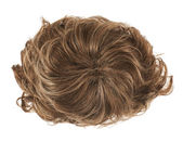 Brown hair wig — Stock Photo