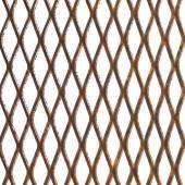 Old rusty metal lattice — Stock Photo