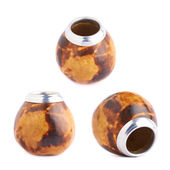 Mate calabash gourds — Stock Photo