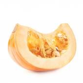 Orange pumpkin slice — Stock Photo