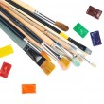 Multiple paint brushes — Stock Photo #60250583
