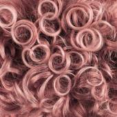 Curly hair fragment — Stock Photo