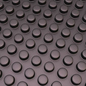 Surface with cylindrical bumps — Foto de Stock
