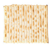 Single machine made matza flatbread — Stock Photo