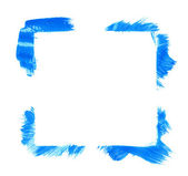 Square frame made with brush strokes — Stock Photo