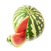 Watermelon fruit isolated — Stock Photo
