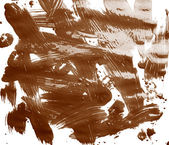 Surface covered with multiple brush strokes — Stock Photo