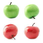 Apple frukt konstgjorda plast dekoration — Stockfoto