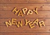 Happy New Year composition — Stock Photo
