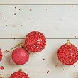 Festive christmas background composition — Stock Photo #65916191