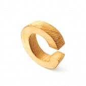 Capital block wooden letter C — Stock Photo