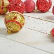 Festive christmas background composition — Stock Photo #67505691