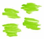 вручите сделанный мазок кисти масляной краски — Стоковое фото