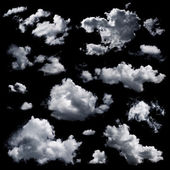 Multiple clouds and cloud formations — Stock Photo