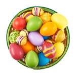Basket full of Easter eggs — Stock Photo #71173053