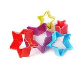 Star shaped baking molds — Stock Photo