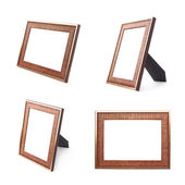 Wooden picture frames — Stock Photo