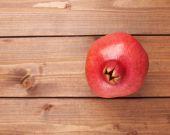 Pomegranate Punica granatum fruit — Stock Photo