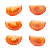 Red tomato slices — Stock Photo