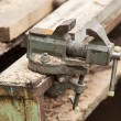 Old bench vise — Stock Photo #68784777
