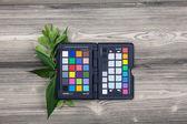 Color checker passport — Stock Photo