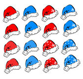 Set of vector decorative elements for Christmas and New Year holidays — Stockvector