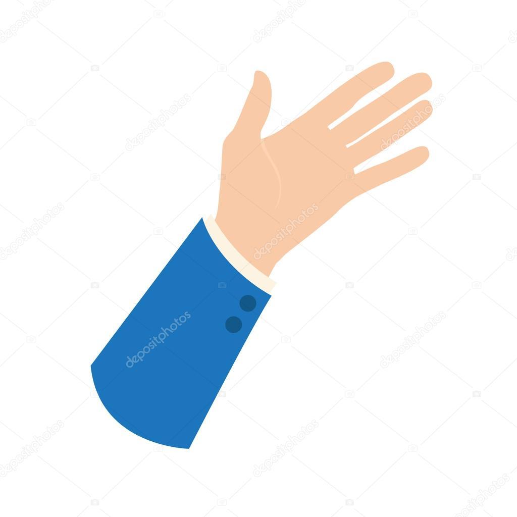 矢量手形图标 — 图库矢量图片