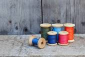 Vintage reel of thread — Foto Stock