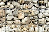 Background of large stones and grid — Stock Photo