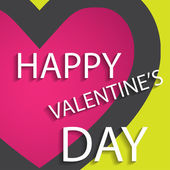Vector background for valentine's day. Creative design. — Stock Vector
