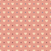 Valentines seamless pattern — Stock Vector