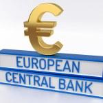 ECB European Central Bank - 3D Render — Stock Photo #72173005