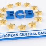 ECB European Central Bank - 3D Render — Stock Photo #72173015