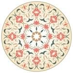 Medieval round rosette — Stock Vector #61281435