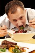 Disordered eating — Stock Photo