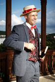 Godd looking man in Art Nouveau style — Stockfoto