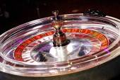 Glass roulette wheel — Stock Photo