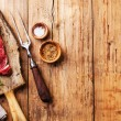 Fresh meat Striploin steak — Stock Photo #58002209