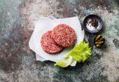 Meat Burger steak — Stockfoto