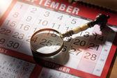 Wichtig kalenderdatum — Stockfoto