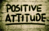 Positive Attitude Concept — Stock Photo