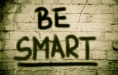 Be Smart Concept — Foto Stock