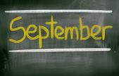 September Concept — Stockfoto