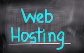Web Hosting Concept — Stock Photo