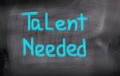 Talent Needed Concept — Stock Photo