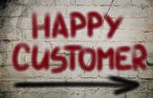 Happy Customer Concept — Stock Photo