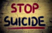 Stop Suicide Concept — Stock Photo