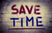 Save Time Concept — Stock Photo