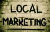 Local Marketing Concept — Stock Photo